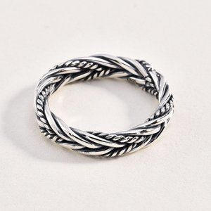 Sterling 925 Cable Ring